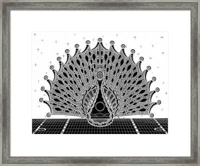 Dream Link Inverted Framed Print by Ron Jones