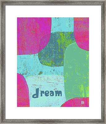 Framed Print featuring the painting Dream by Lisa Weedn