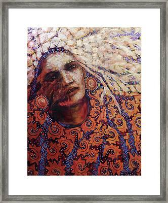 Dream Messenger-ancient Sun Framed Print