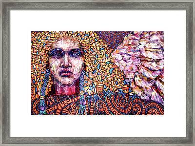 Dream Messenger-angel Framed Print
