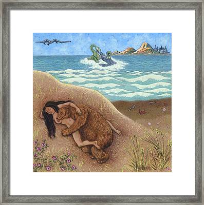 Dream Of A Time Framed Print by Holly Wood