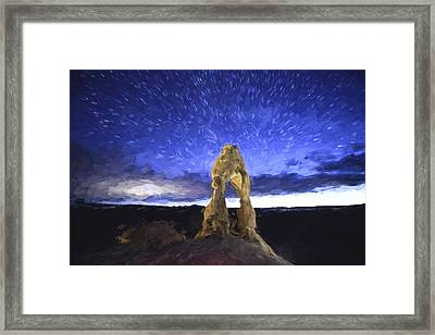Dream Of Arches II Framed Print by Jon Glaser