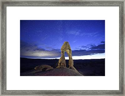 Dream Of Arches Framed Print by Jon Glaser