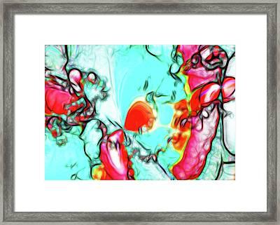 Dream Of Butterfly Framed Print