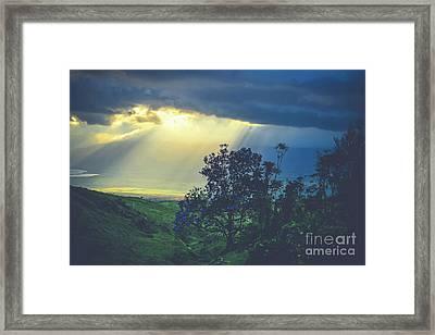 Dream Of Mortal Bliss Framed Print by Sharon Mau