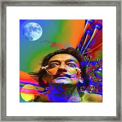 Dream Of Salvador Dali Framed Print by Matthew Lacey