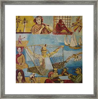 Dream Of The Fisherman Framed Print by Biagio Civale