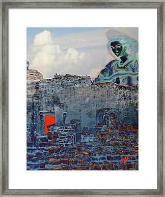 Dream Of Tulum Ruins Framed Print