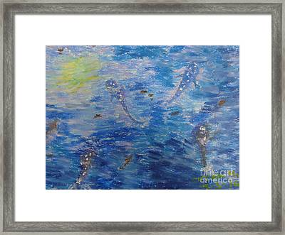 Dream Of Whales Framed Print