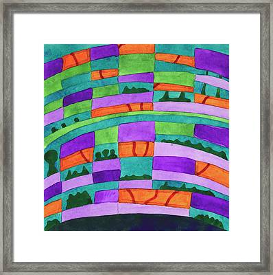 Dream Pillow Framed Print by Heidi Capitaine