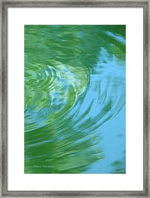 Dream Pool Framed Print by Donna Blackhall