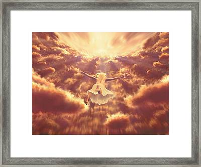 Framed Print featuring the painting Dream Quest by Robby Donaghey