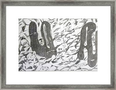 Dream Framed Print by Rajendra Yadav