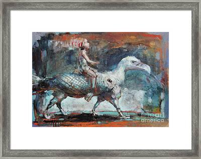 Dream Rider II Framed Print by Michal Kwarciak