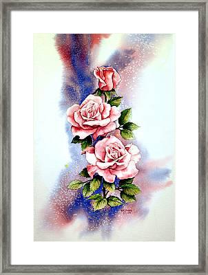 Dream Roses Framed Print by Brooke Lyman