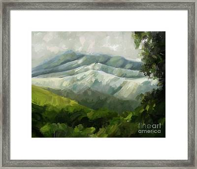 Dream Scape Framed Print