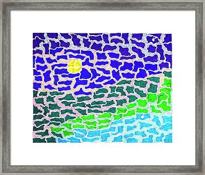 Dream Scape Framed Print by Steven Natanson
