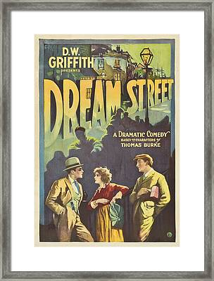 Dream Street 1921 Framed Print by Mountain Dreams
