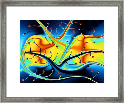 Dream Tree Framed Print by Robin Monroe