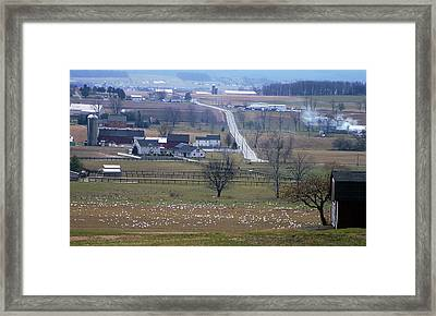 Framed Print featuring the photograph Dream Village by Vilas Malankar