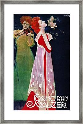 Dream Waltz 1910 Framed Print by Padre Art