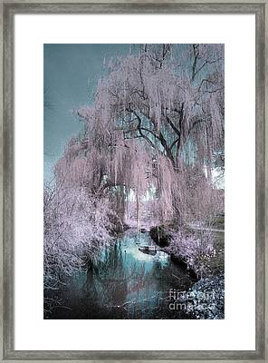 Dream Willows Framed Print by Tara Turner