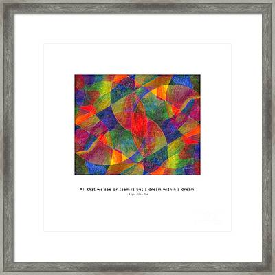 Framed Print featuring the photograph Dream Within A Dream by Kristen Fox