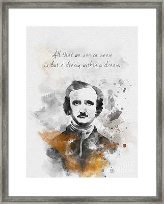 Dream Within A Dream Framed Print