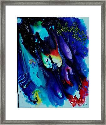 Dream Wizard Framed Print by Sofanya White