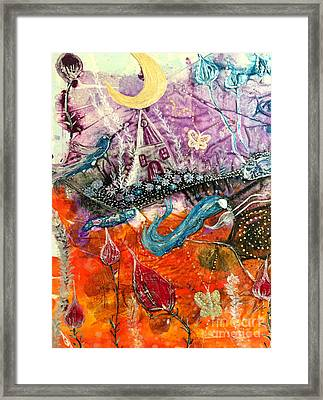 Dream Worlds Framed Print by Julie Engelhardt