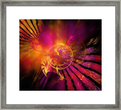 Dreamcatcher Framed Print by Ricky Barnard