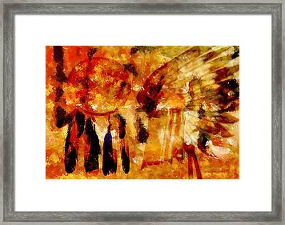 Dreamcatcher Framed Print by Valerie Anne Kelly