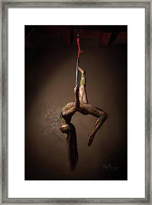 Dreamcatcher X Framed Print by David April