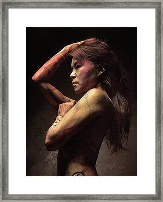 Dreamcatcher Xii Framed Print