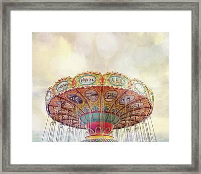 Dreamer - Nostalgic Summer Carnival Framed Print