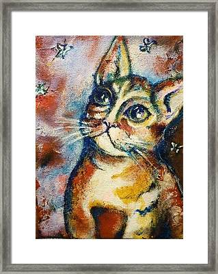 Framed Print featuring the painting Dreamer by Rae Chichilnitsky