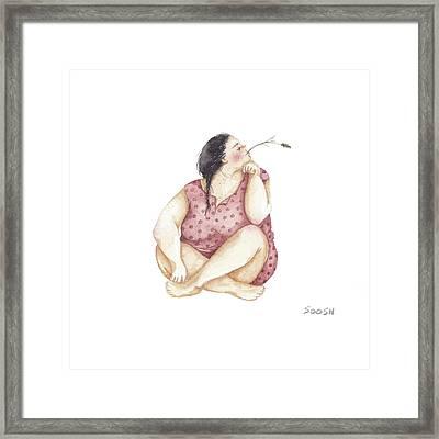 Dreamer Framed Print by Soosh