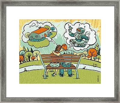 Dreamers Framed Print by Baird Hoffmire