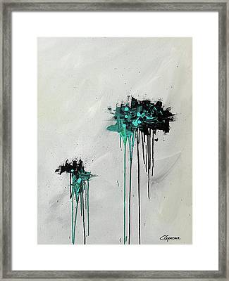 Framed Print featuring the painting Dreamers by Carmen Guedez
