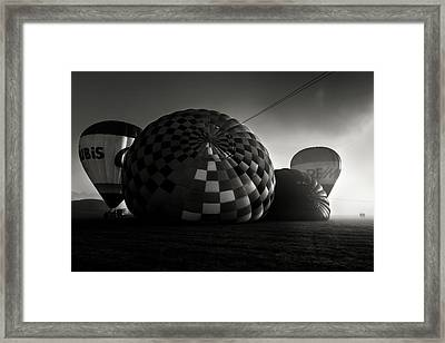 Dreamers Of A Dream Framed Print by Jorge Maia