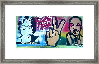 Dreamers Framed Print by Tony B Conscious