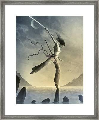 Dreamfall Framed Print by Jason Engle