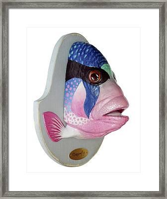 Dreamfish Trophy Framed Print by Artem Efimov