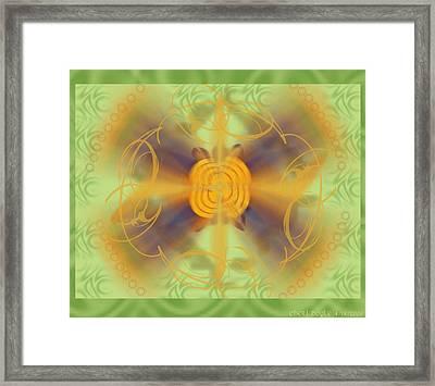 Dreamflower Framed Print by Cheri Doyle