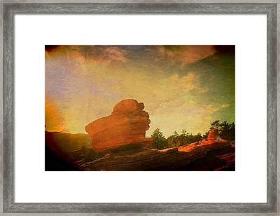 Dreamin' In Color Framed Print by Toni Hopper