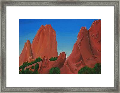 Dreaming Beneath The Spires Framed Print