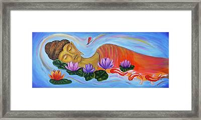 Dreaming Buddha Framed Print