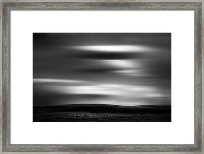 Framed Print featuring the photograph Dreaming Clouds by Dan Jurak
