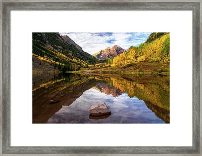 Dreaming Colorado Framed Print