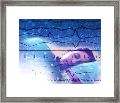 Dreaming Framed Print by Hannah Gal